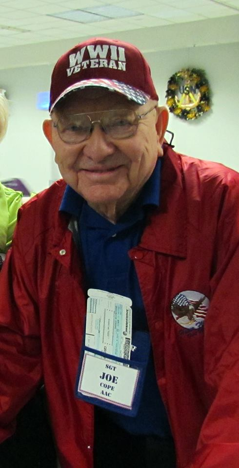 Joe Cope Veteran