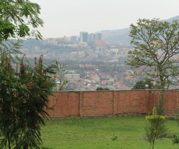 View of downtown Kigali from ALARM Rwanda